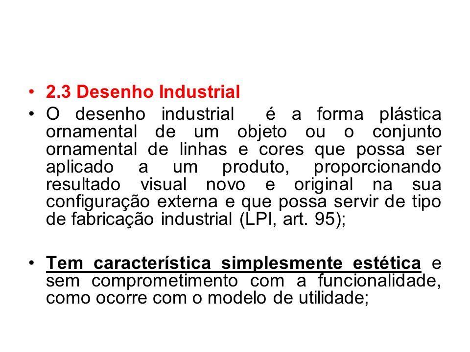 2.3 Desenho Industrial