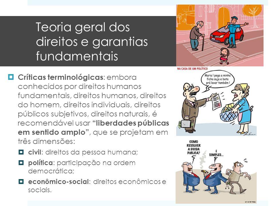 Teoria geral dos direitos e garantias fundamentais
