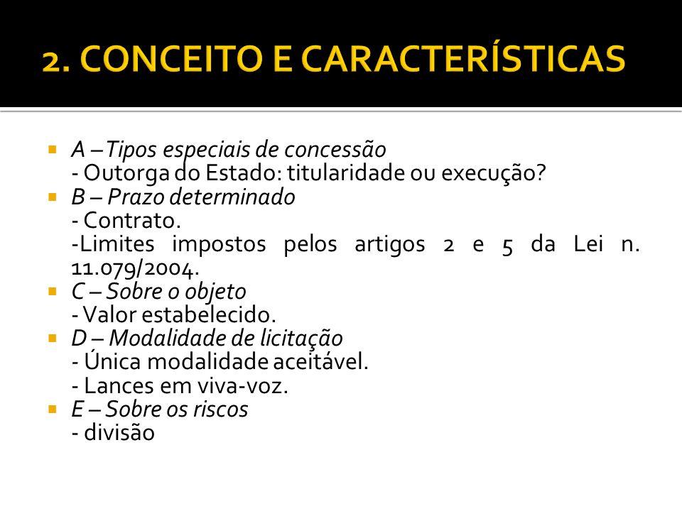 2. CONCEITO E CARACTERÍSTICAS