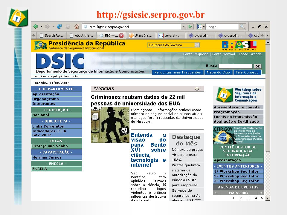 http://gsicsic.serpro.gov.br