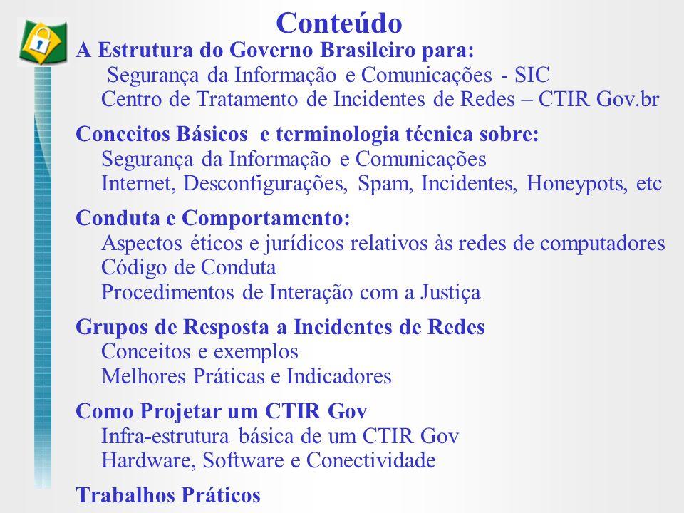 Conteúdo A Estrutura do Governo Brasileiro para: