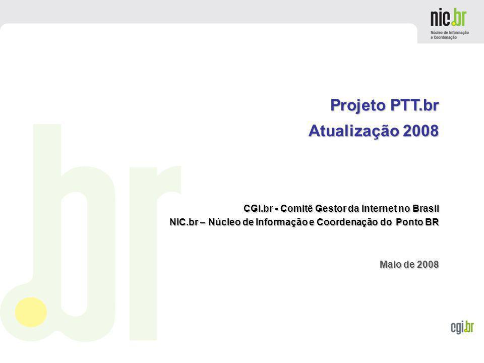 Projeto PTT.br Atualização 2008