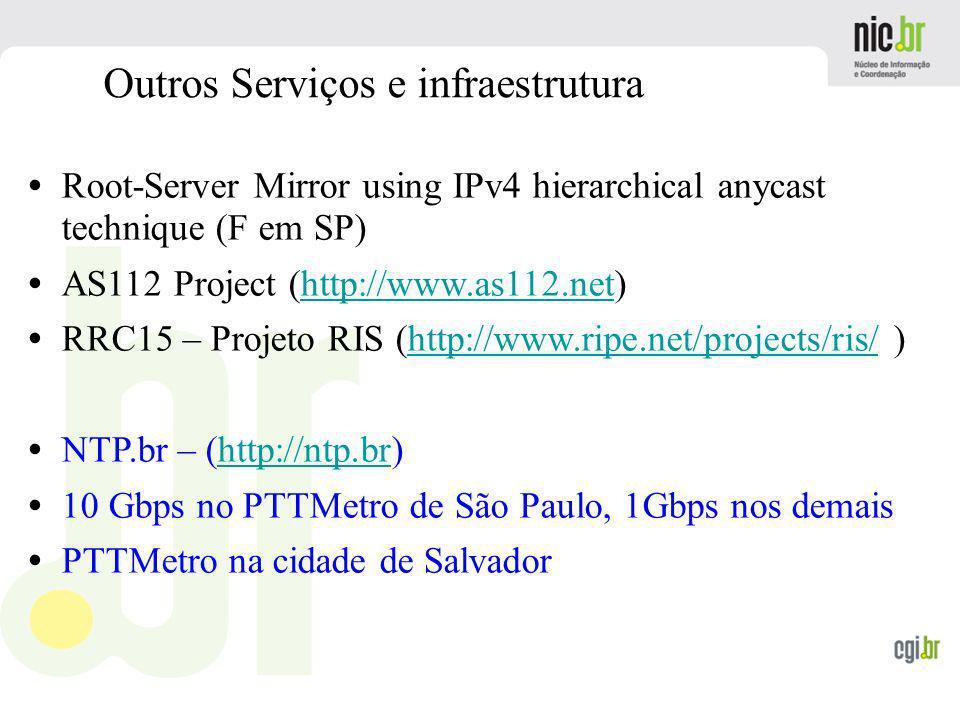 Outros Serviços e infraestrutura