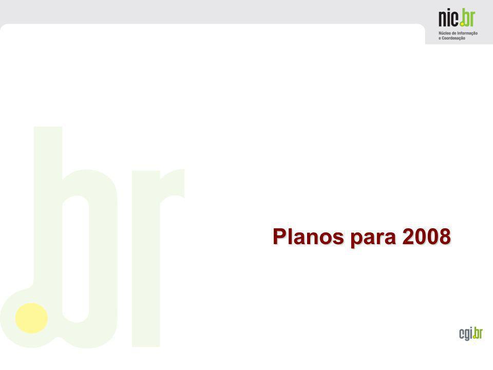 Planos para 2008