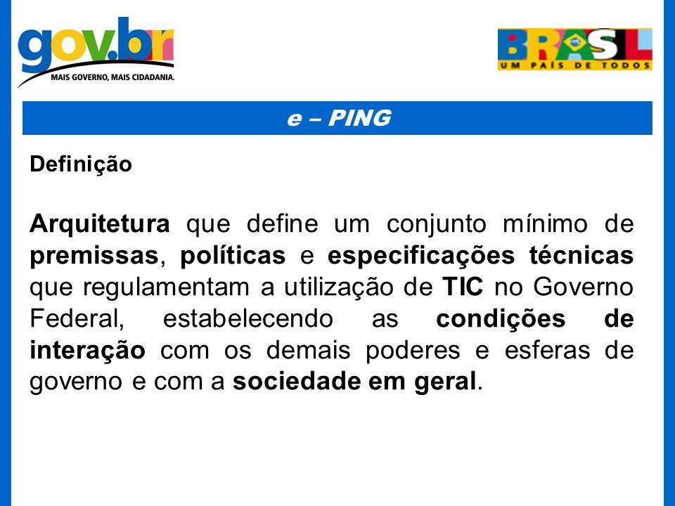 e – PING Definição.