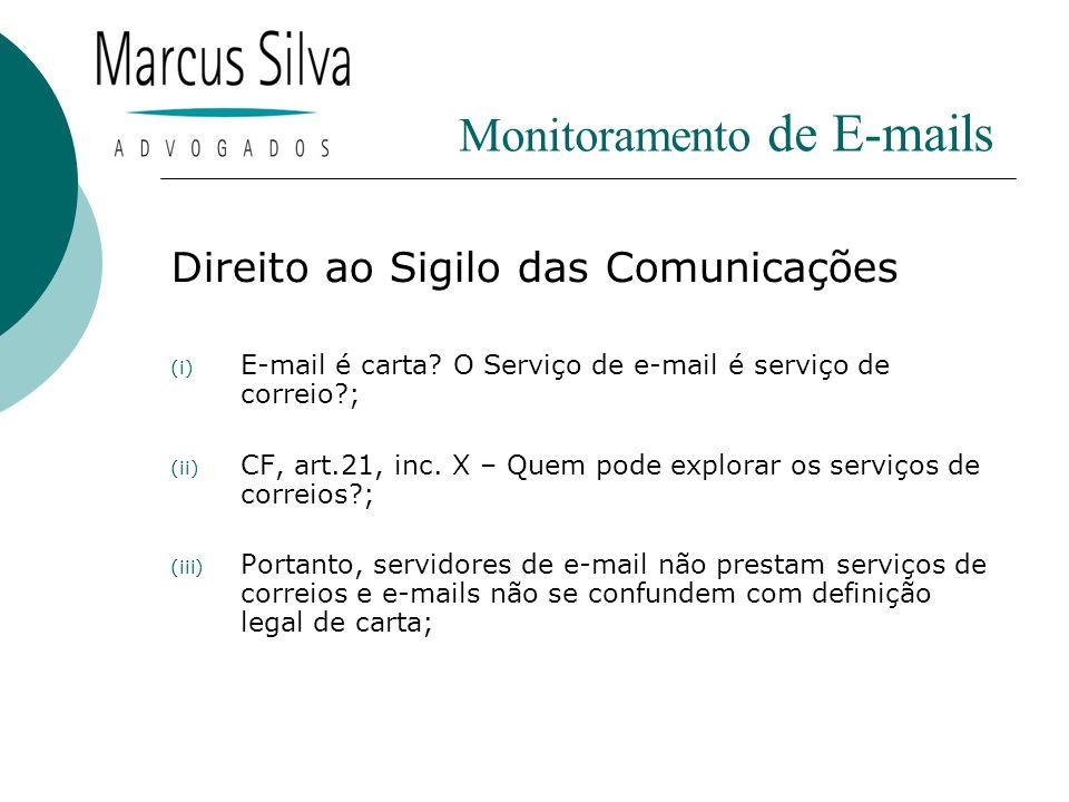 Monitoramento de E-mails