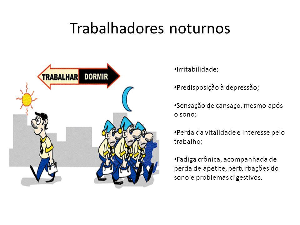 Trabalhadores noturnos