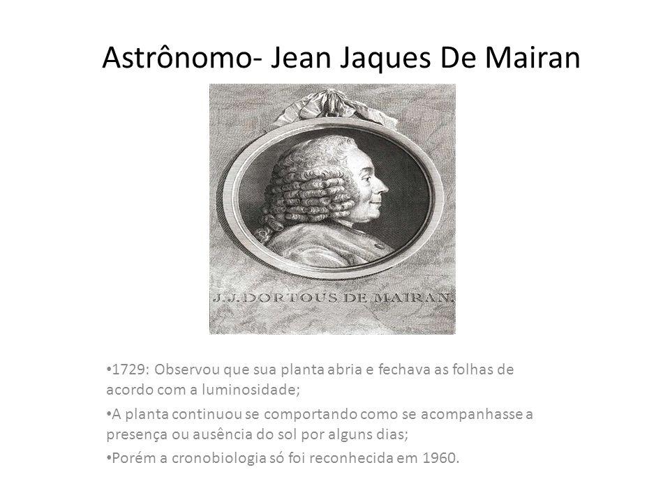 Astrônomo- Jean Jaques De Mairan