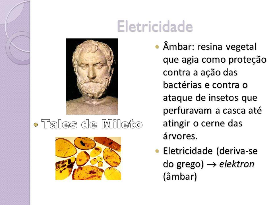 Eletricidade Tales de Mileto