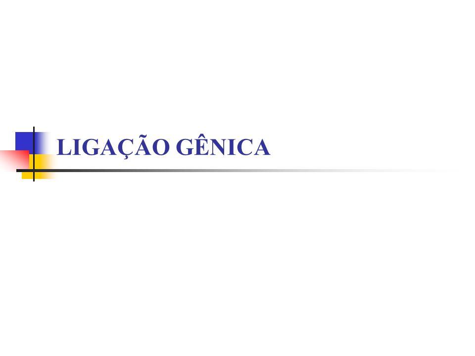 LIGAÇÃO GÊNICA