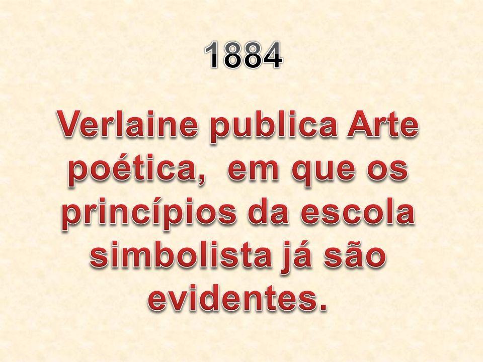 Verlaine publica Arte poética, em que os princípios da escola simbolista já são evidentes.