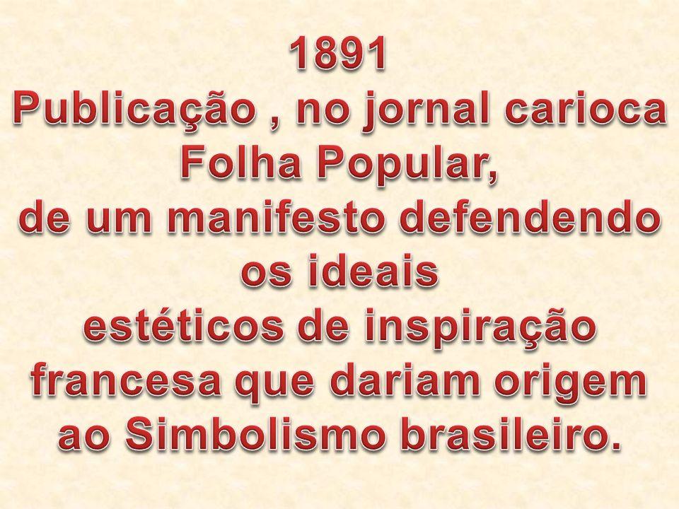 Publicação , no jornal carioca Folha Popular,