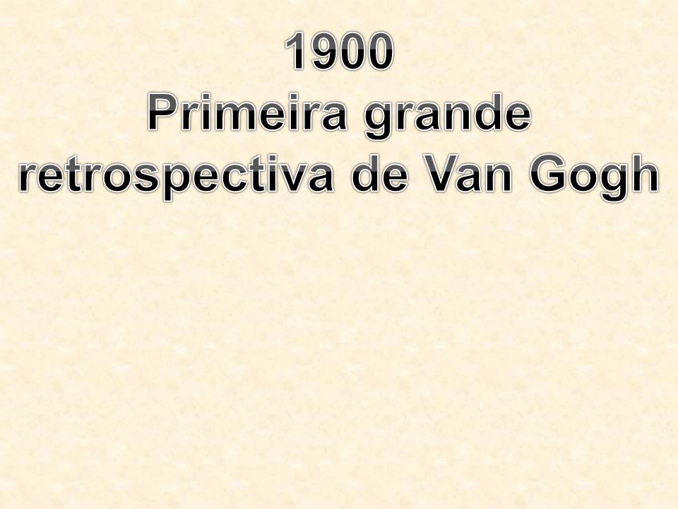 Primeira grande retrospectiva de Van Gogh