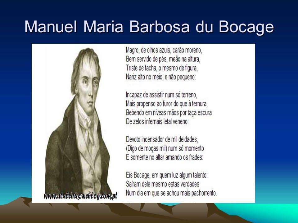 Manuel Maria Barbosa du Bocage