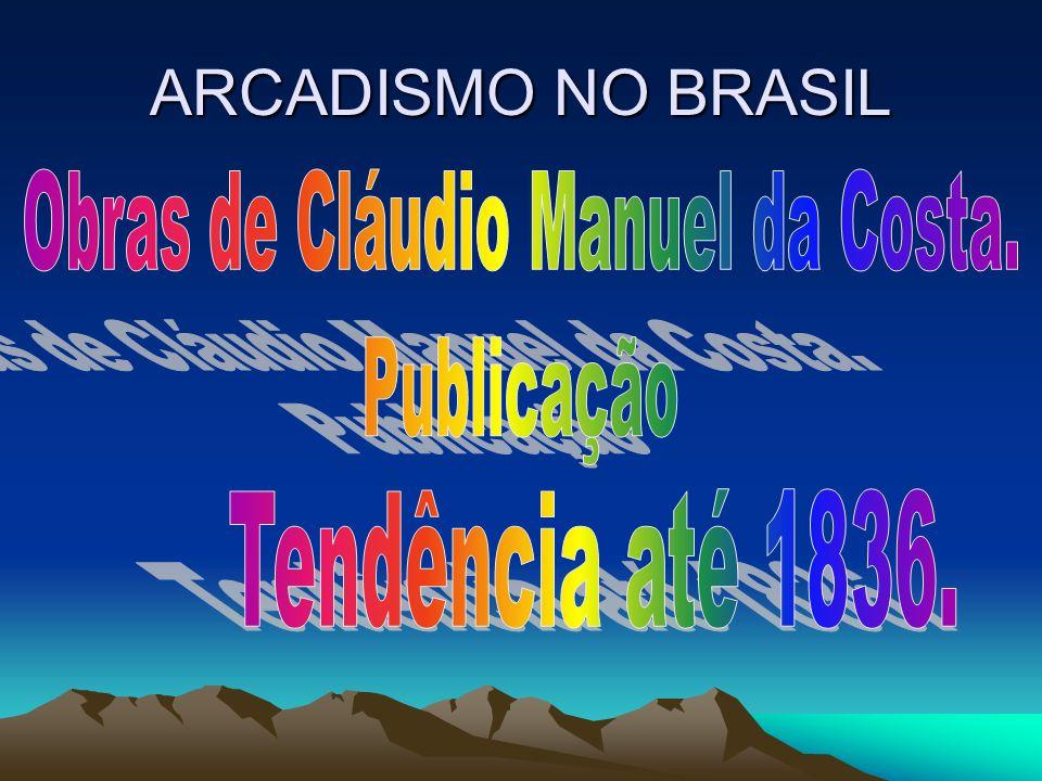 Obras de Cláudio Manuel da Costa.