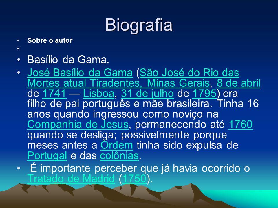 Biografia Basílio da Gama.