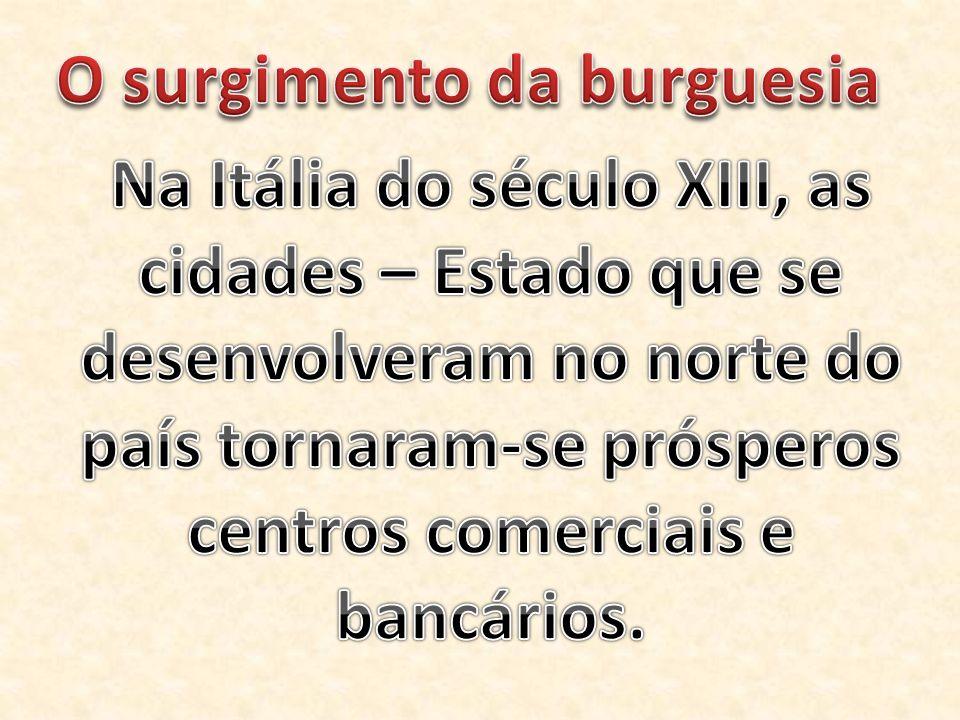 O surgimento da burguesia