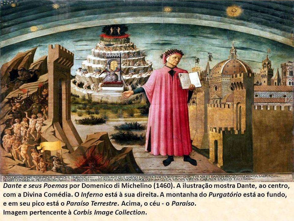 Dante e seus Poemas por Domenico di Michelino (1460)