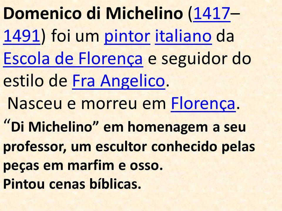 Nasceu e morreu em Florença.