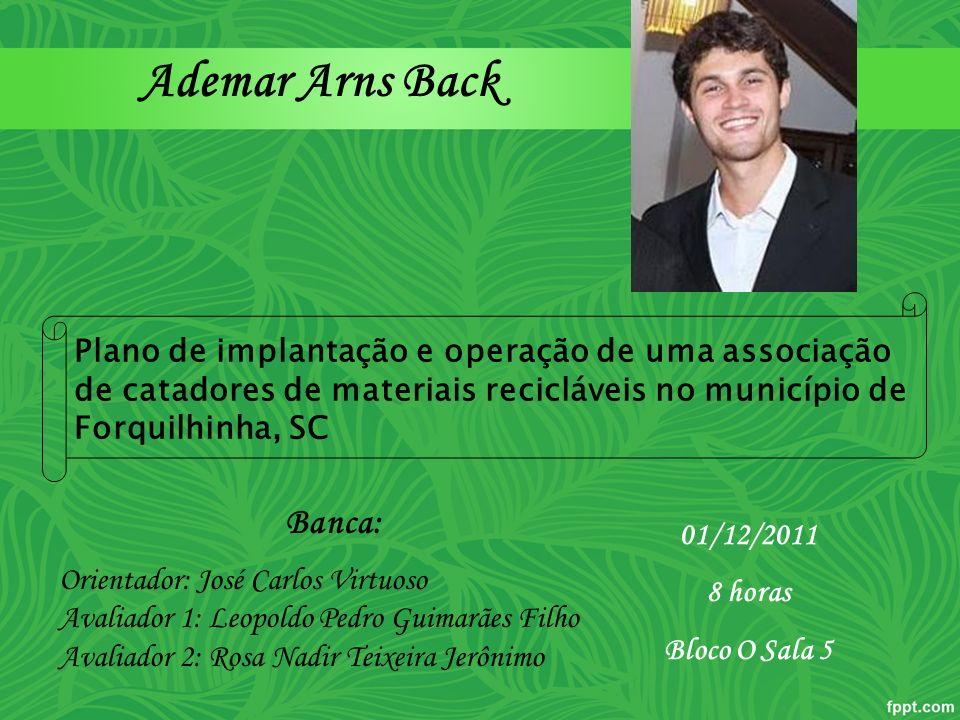 Ademar Arns Back Banca: