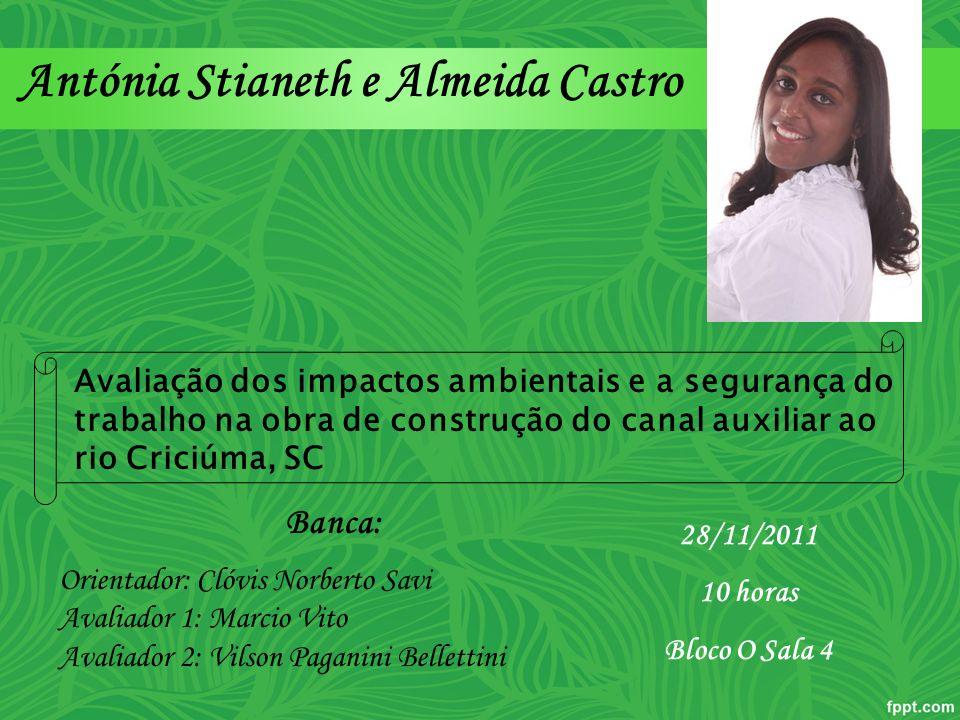 Antónia Stianeth e Almeida Castro