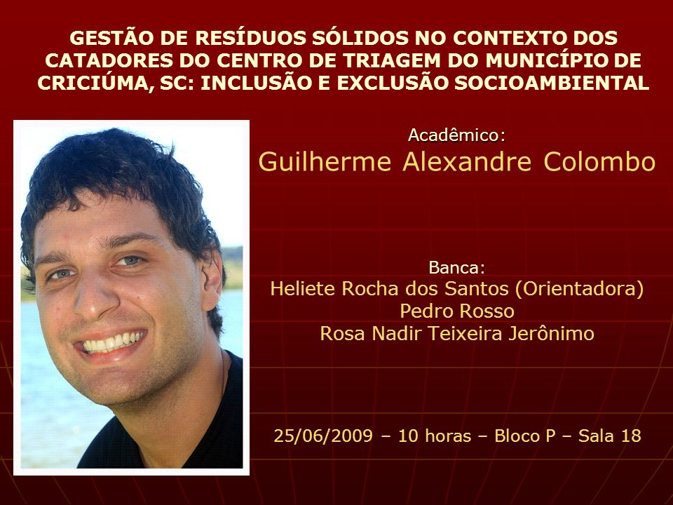 Guilherme Alexandre Colombo