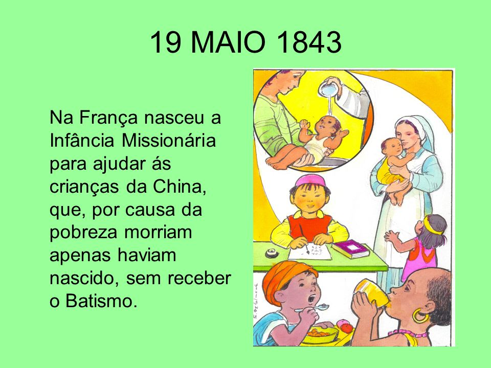 19 MAIO 1843