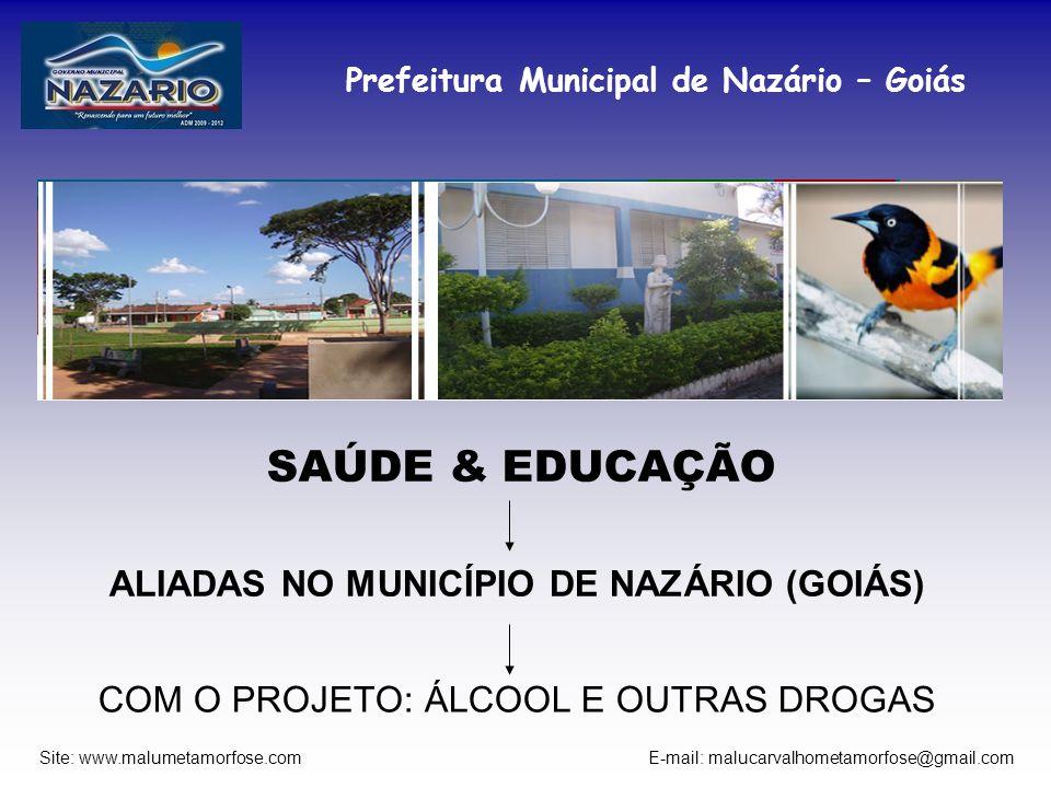 ALIADAS NO MUNICÍPIO DE NAZÁRIO (GOIÁS)