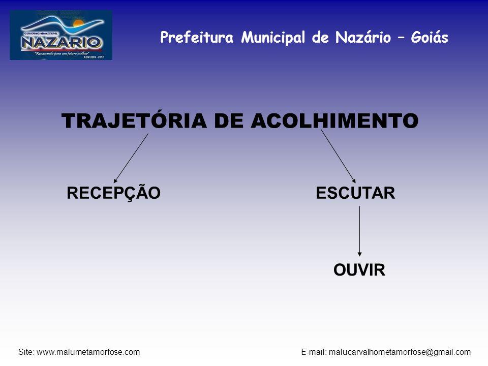 TRAJETÓRIA DE ACOLHIMENTO