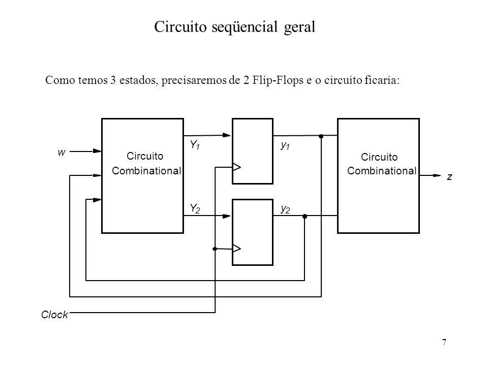 Circuito seqüencial geral