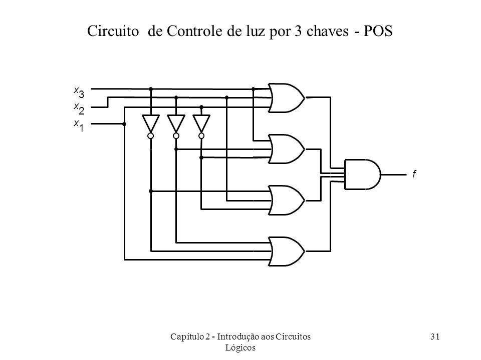 Circuito de Controle de luz por 3 chaves - POS