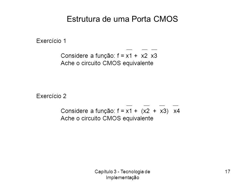 Capítulo 3 - Tecnologia de Implementação