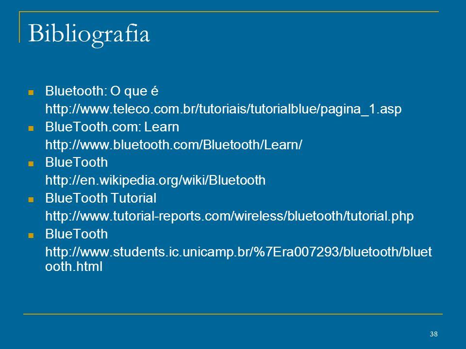 Bibliografia Bluetooth: O que é