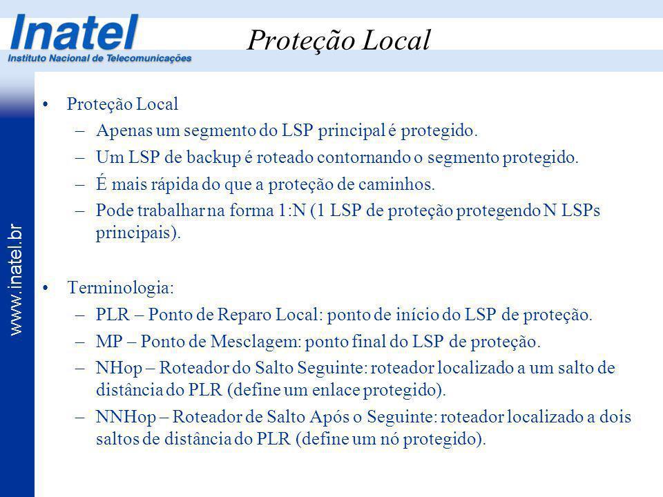 Proteção Local Proteção Local