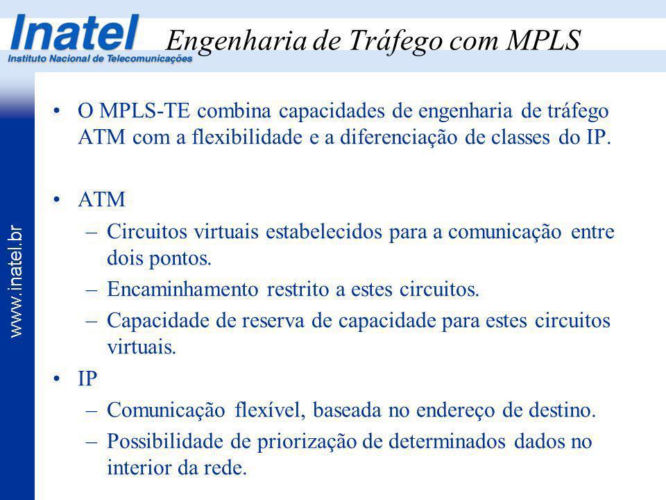 Engenharia de Tráfego com MPLS