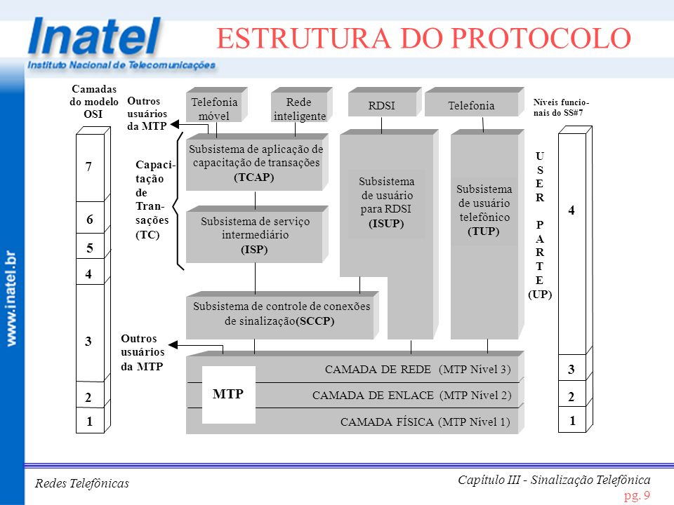 ESTRUTURA DO PROTOCOLO