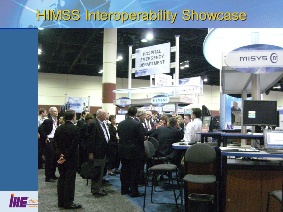 HIMSS Interoperability Showcase