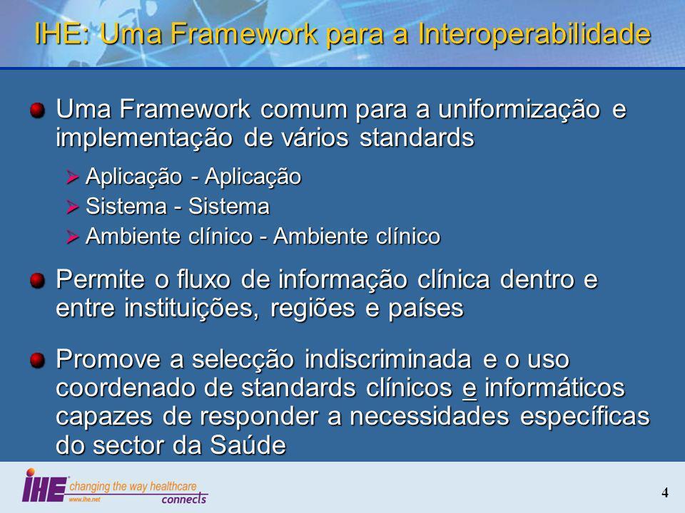 IHE: Uma Framework para a Interoperabilidade