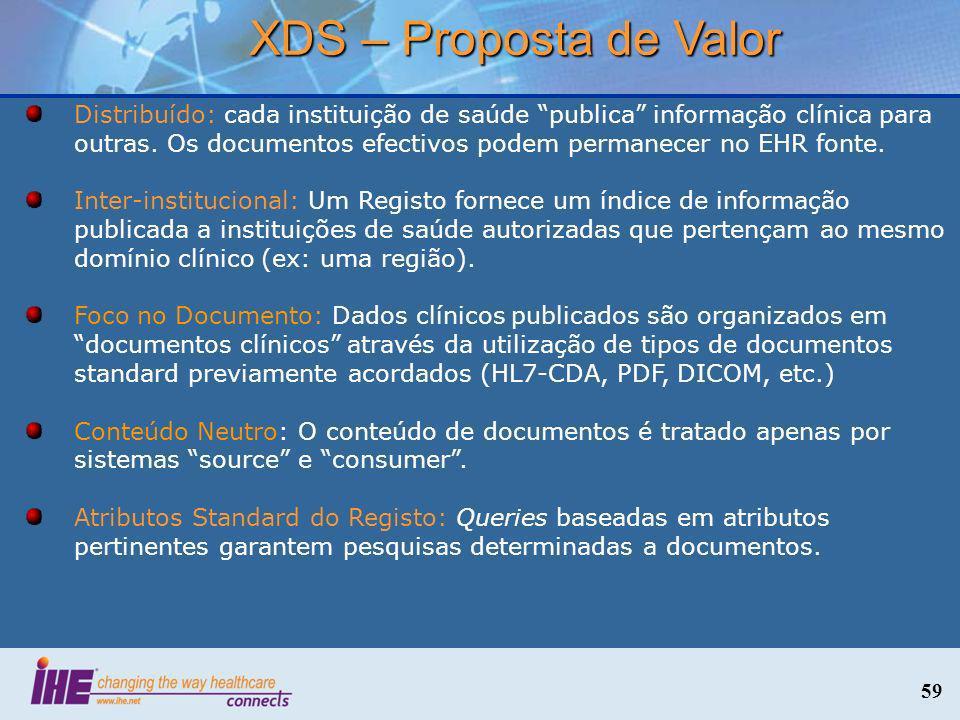 XDS – Proposta de Valor