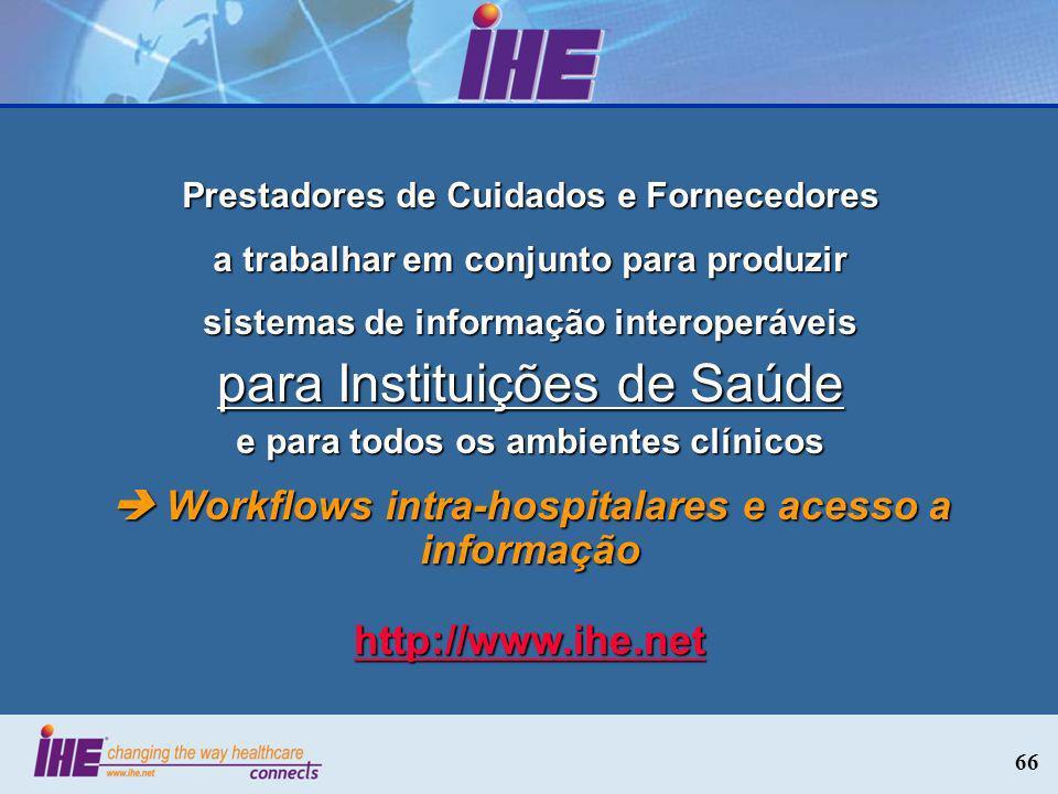para Instituições de Saúde