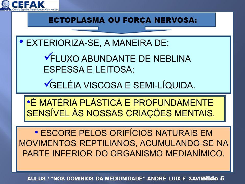 EXTERIORIZA-SE, A MANEIRA DE:
