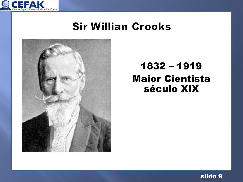 Maior Cientista século XIX