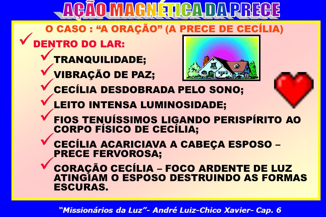 AÇÃO MAGNÉTICA DA PRECE