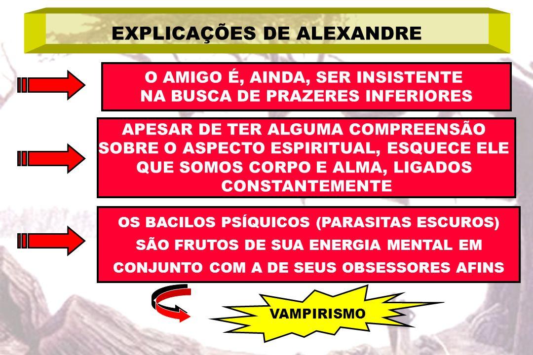 EXPLICAÇÕES DE ALEXANDRE