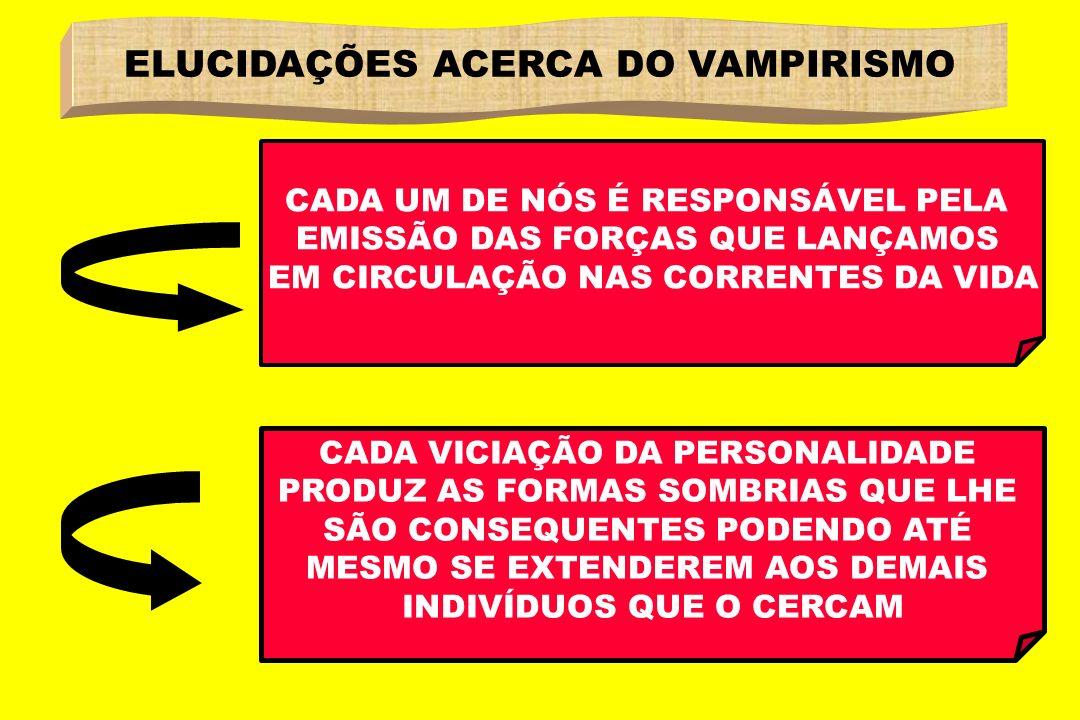 ELUCIDAÇÕES ACERCA DO VAMPIRISMO