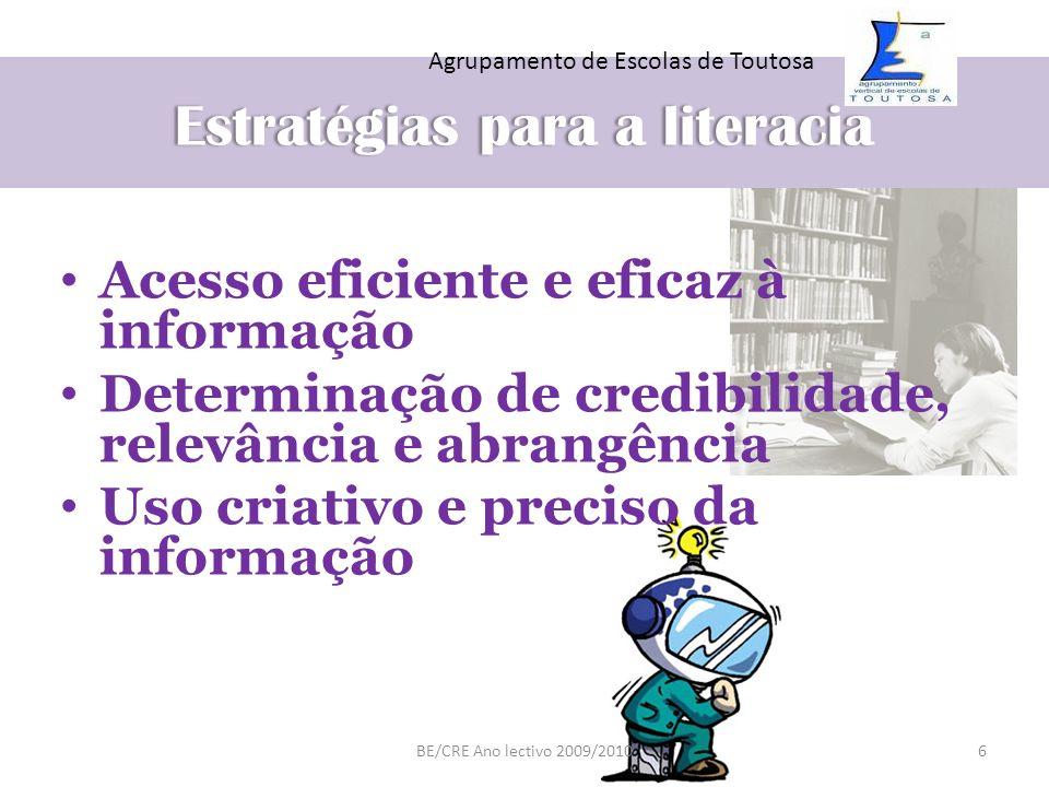 Estratégias para a literacia