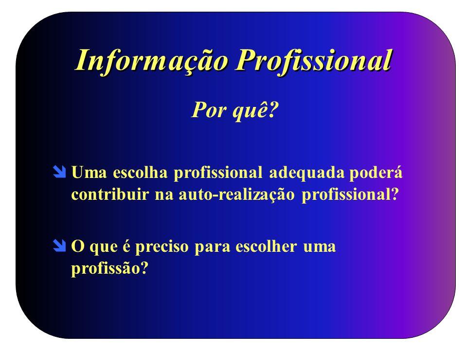 Informação Profissional