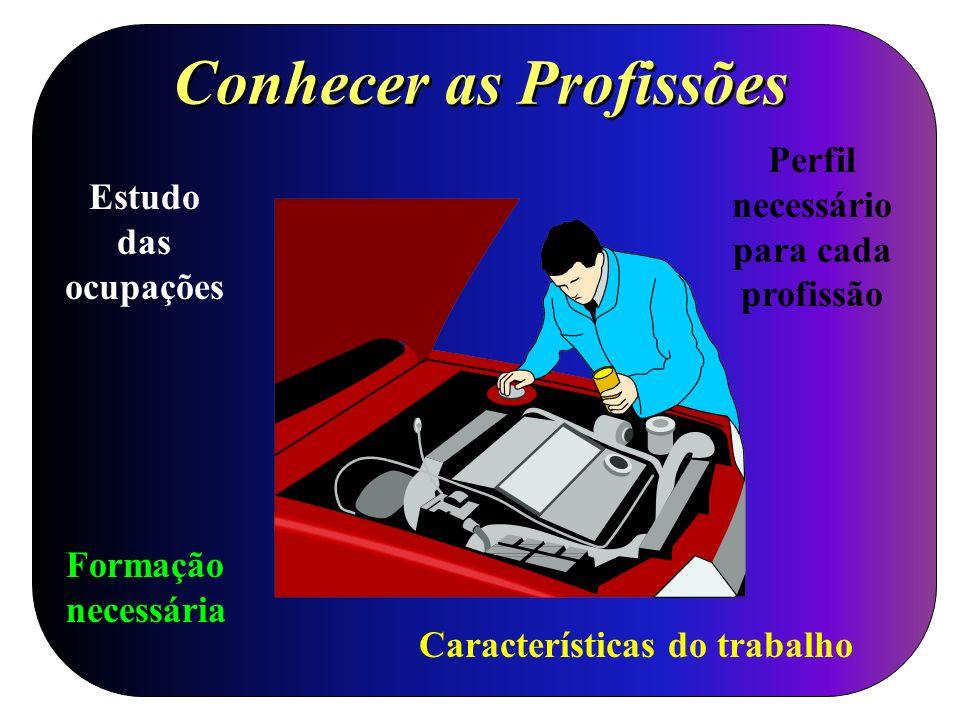 Conhecer as Profissões