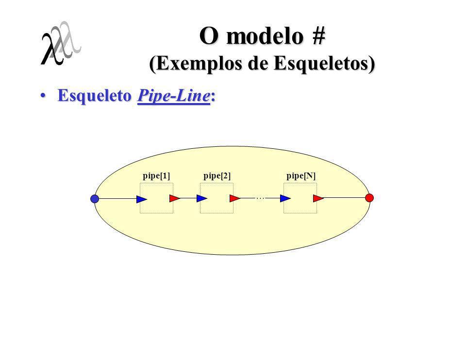 O modelo # (Exemplos de Esqueletos)