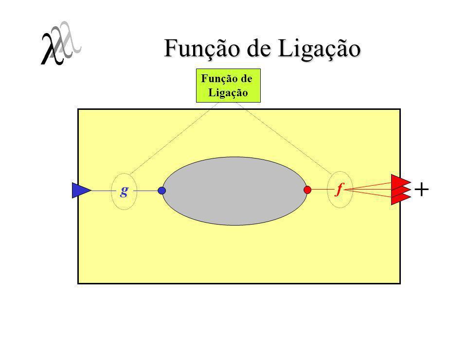 Função de Ligação Função de Ligação + g f